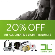 20% rabatt på alla Creative Light produkter!